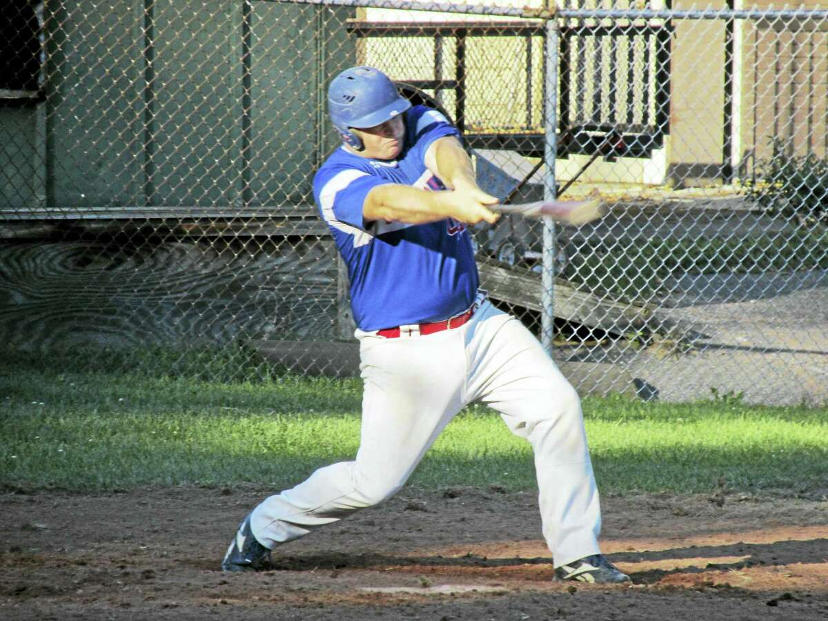Bethlehem's Jon Conlon put the edge on a pitcher's duel with a second-inning solo home run in the Plowboys' Tri-State League playoff win over Terryville Wednesday afternoon at the old Terryville High School.