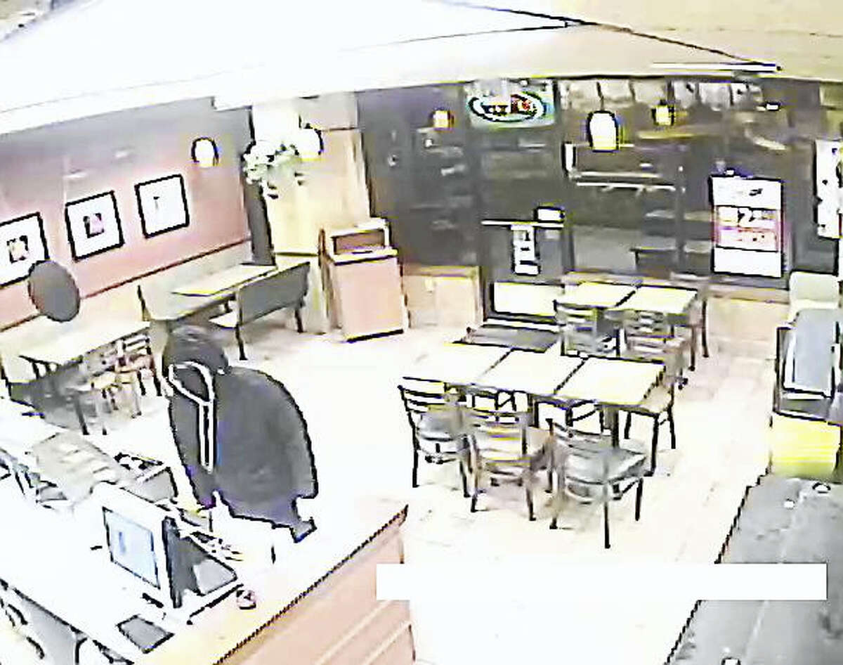 Torrington police are searching for a suspect in an armed robbery that occurred at Subway on Winsted Road on Saturday, December 3, 2016.