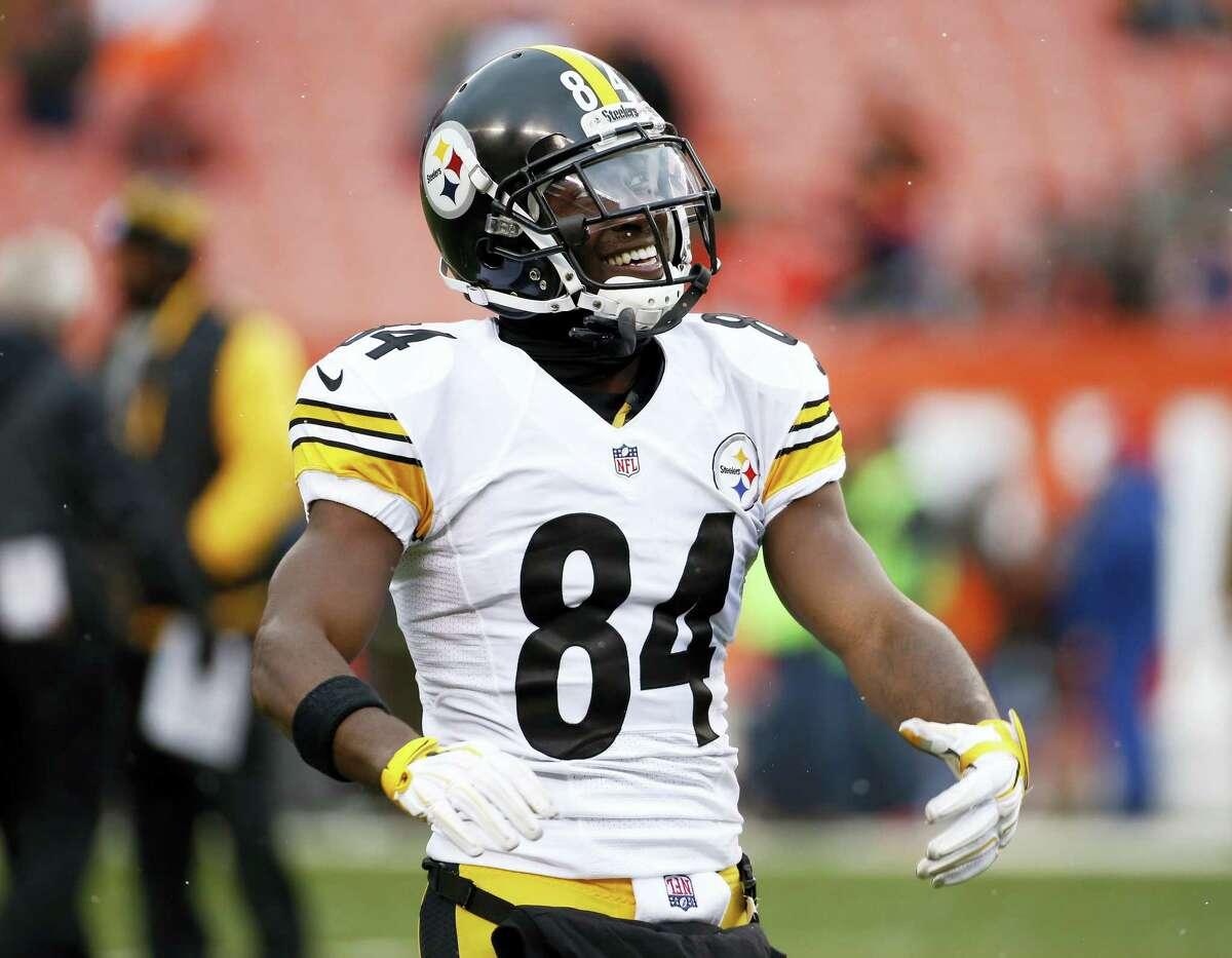 Pittsburgh Steelers wide receiver Antonio Brown.