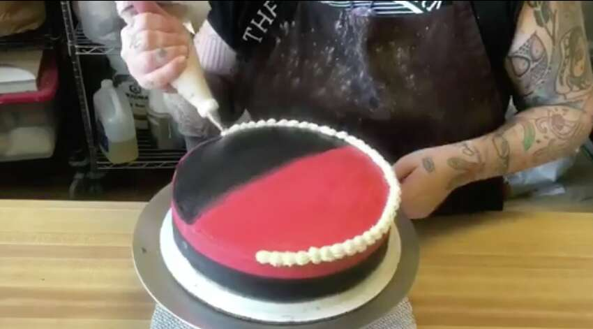 Oakland baker Ashley Shotwell says her Facebook page was flooded with negative reviews after she shared a video of a birthday cake decorated with the phrase 'Kill Nazis.'