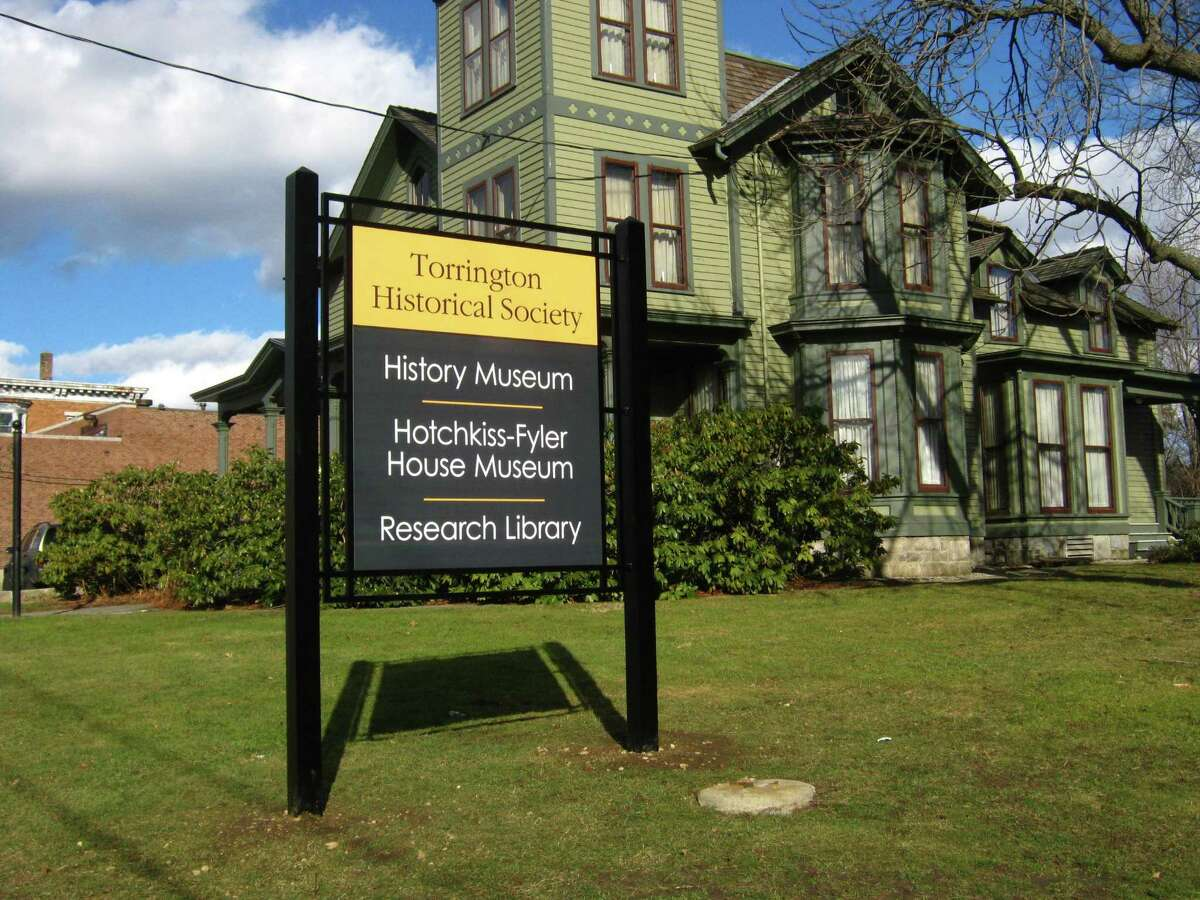 New sign at Torrington Historical Society. Contributed photo.