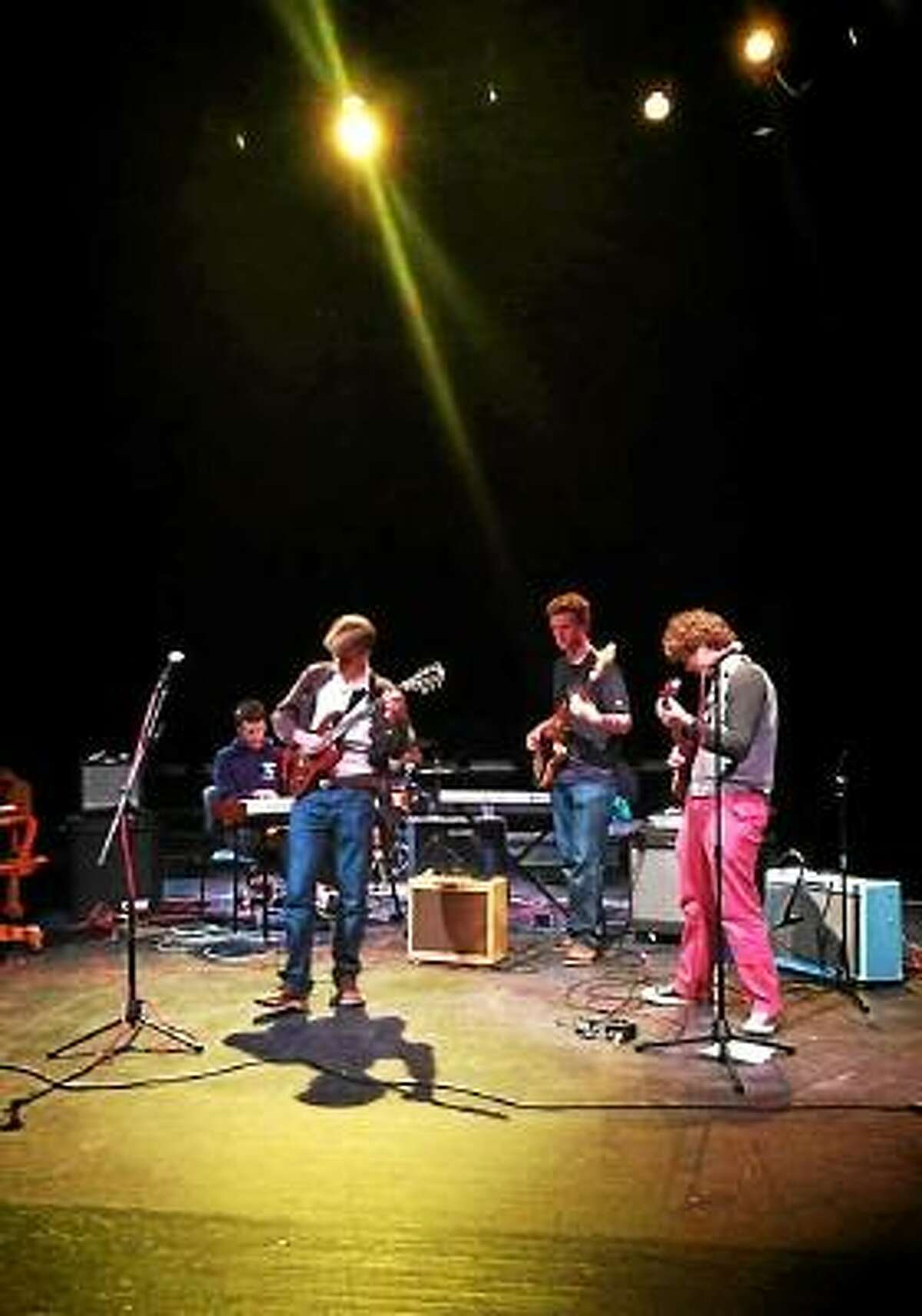 Contributed Photo Branchwater playing at Taft School earlier this month at a Sandy Hook Benefit concert.