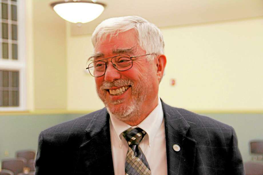 Gerald Zordan after the city council meeting on Monday, Sept. 23, at City Hall in Torrington. Zordan was appointed to serve as interim mayor from Oct. 1 and Dec. 2 after Mayor Ryan Bingham said he would step down on Oct. 1. Photo: Esteban L. Hernandez­—Register Citizen
