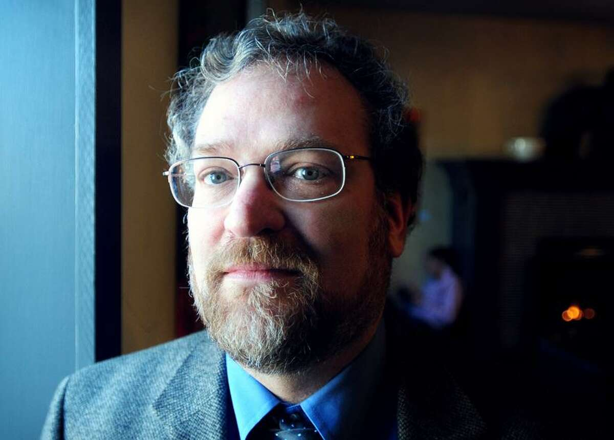 Fordham University history professor Saul Cornell photographed in Ridgefield, Connecticut, on 1/27/2013.Photo by Arnold Gold/New Haven Register AG0482A