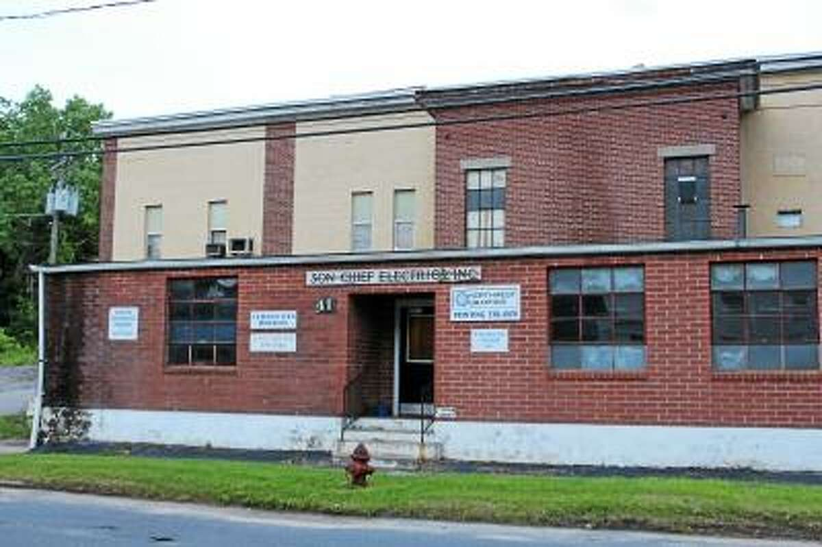 JASON SIEDZIK/Register Citizen - Hamden-based Washington Management has shown interest in the former Son Chief Electrics Company facility, but the EPA may pull Winsted's brownfield funds before remediation can begin.