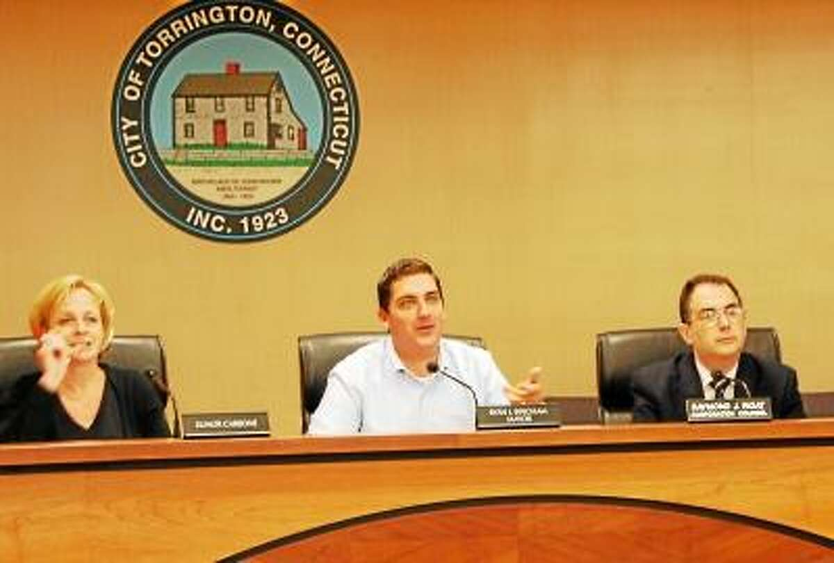 Kate Hartman/Register Citizen - The Torrington City Council met Tuesday and approved a tougher ordinance to deal with blight in the city than what was originally on file.