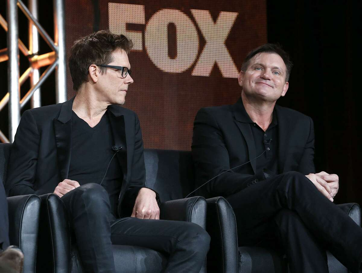 Kevin Bacon and Executive Producer/Creator Kevin Williamson from