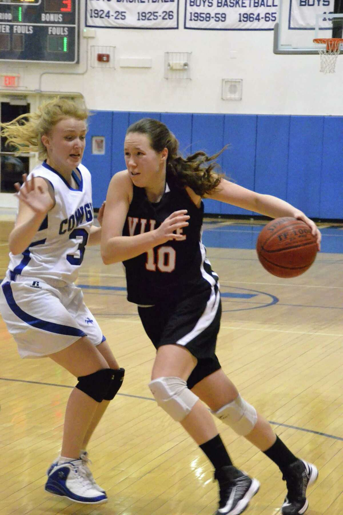 Terryville's Olivia Pilarski has a great all-around game said her coach Damian Coggshall. Pete Paguaga/Register Citizen.