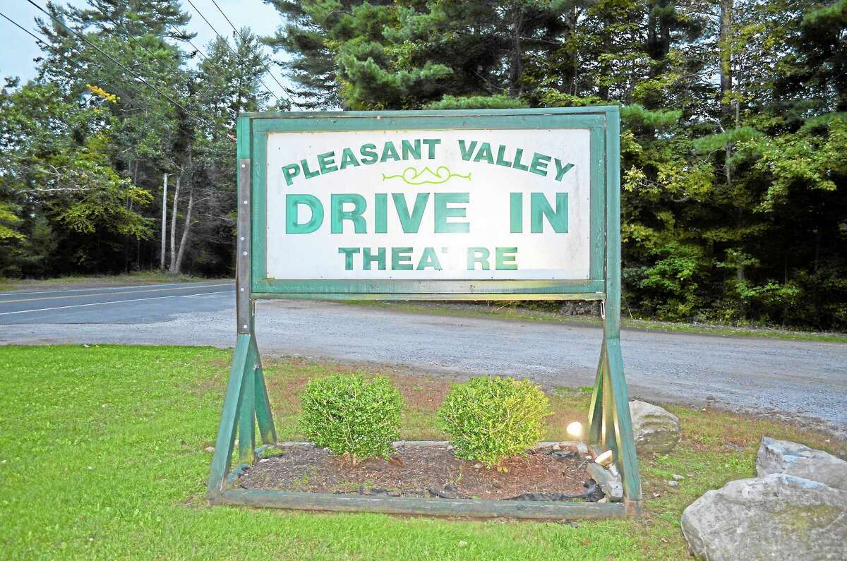 Pleasant Valley Drive-In in Barkhamsted, which shows movies on two carbon arc projectors, dating back to the late 1930s.
