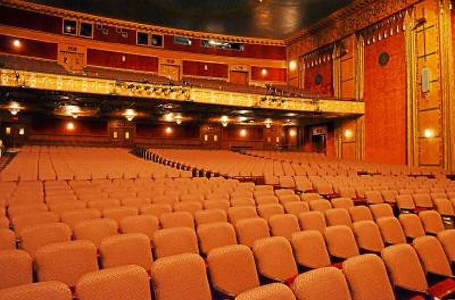 Kate Hartman/Register Citizen. Interior shots of the Warner Theater, Torrington.