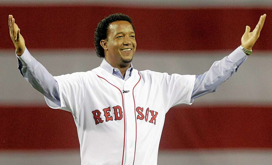 Former Red Sox pitcher Pedro Martinez will serve as a studio analyst for TBS during the baseball playoffs. The network said Monday that the three-time Cy Young Award winner will join host Keith Olbermann. Photo: Elise Amendola — The Associated Press  / AP