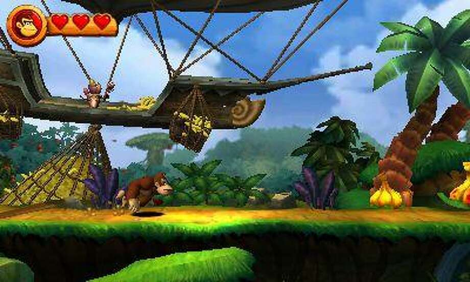 """Donkey Kong Country Returns"" -- released for the Nintendo Wii in 2010 -- is an excellent side-scrolling platformer that is a must-play for fans of the DKC series from the 1990s."