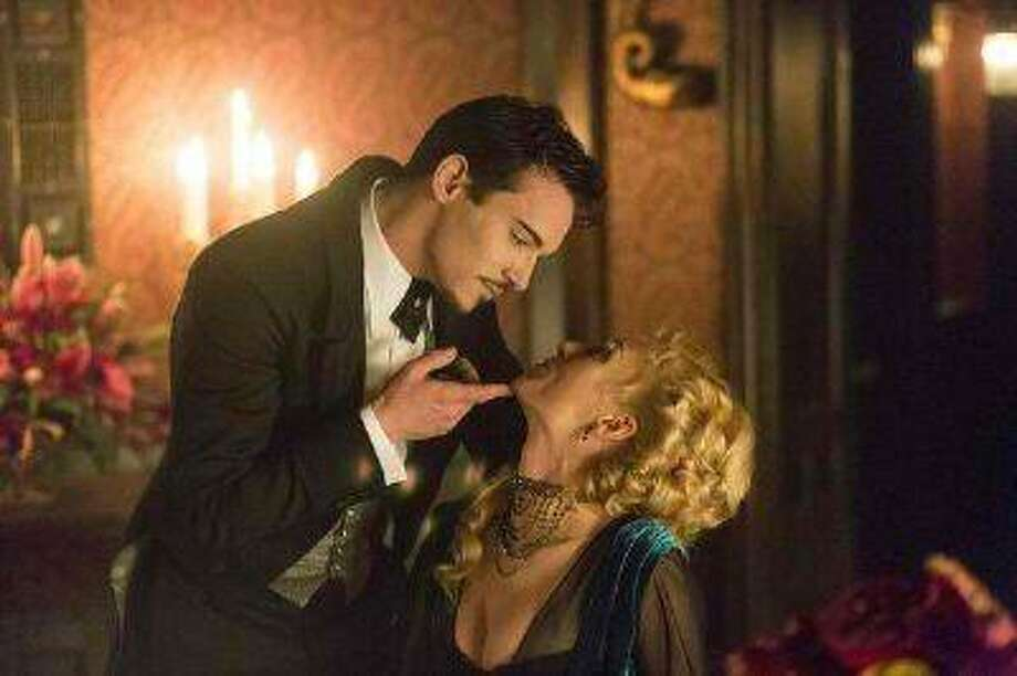 "Jonathan Rhys Meyers and Victoria Smurfit star in the short-run NBC series ""Dracula."""