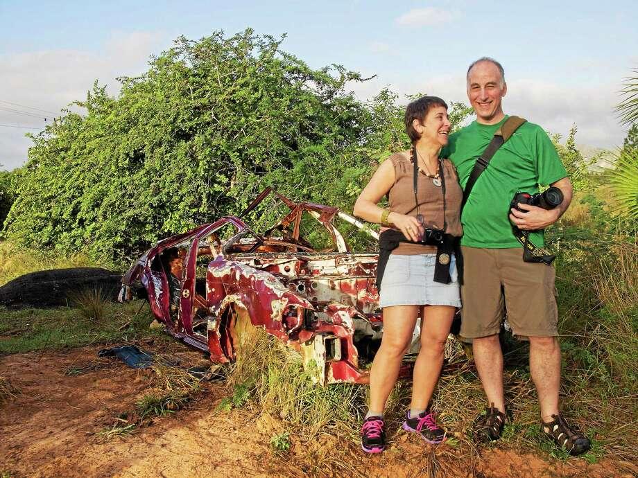 Celia and Rich Pomerantz in Cuba. Photo: Contributed Photo
