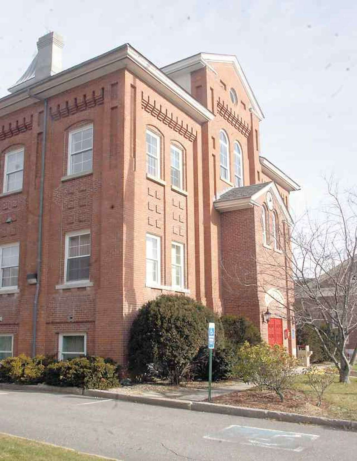 Winsted's town hall. Register Citizen file photo.