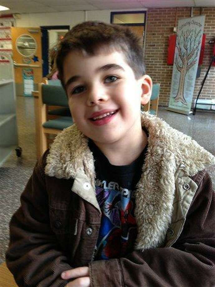 This Nov. 13, 2012 photo provided by the family via The Washington Post shows Noah Pozner. The six-year-old was one of the victims in the Sandy Hook elementary school shooting in Newtown, Conn. on Dec. 14, 2012. (AP Photo/Family Photo) Photo: AP / Family Photo