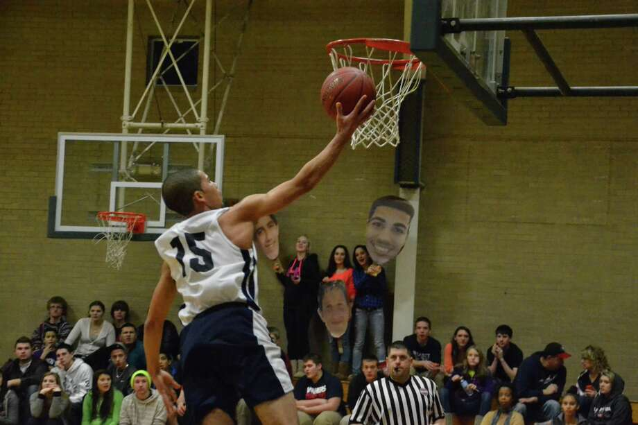 Danny Diaz scored 20 points and added 13 rebounds in the loss. Pete Paguaga/Register Citizen