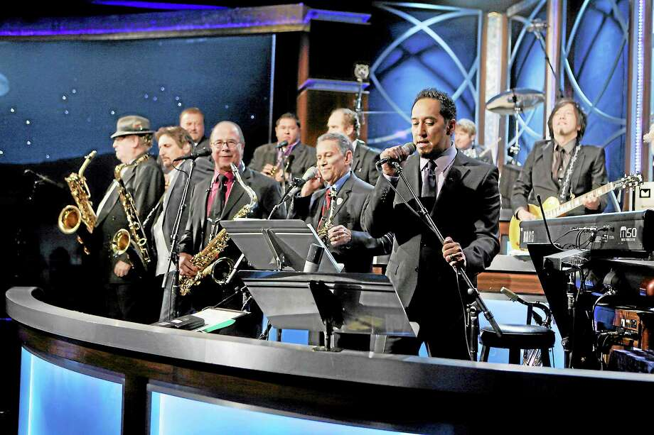ABC/RANDY HOLMES Tower of Power performed on Jimmy Kimmel Live in February 2013. The band is coming to Infinity Hall this month. Photo: ABC / © 2012 American Broadcasting Companies, Inc. All rights reserved.