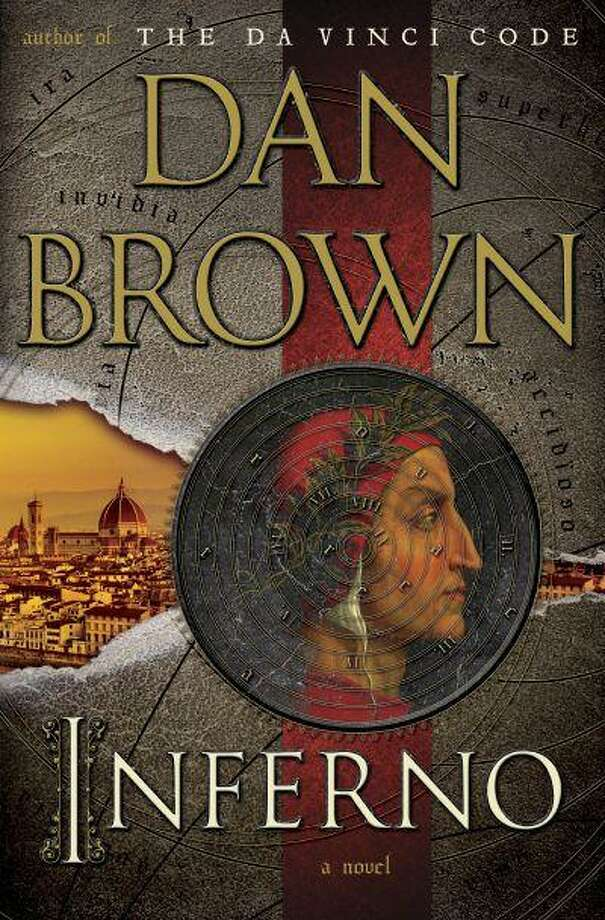 """This book cover image released by Doubleday shows """"Inferno,"""" by Dan Brown. The latest book by Brown, the author of """"The Davinci Code,"""" will be released on May 14, 2013. (AP Photo/Doubleday) Photo: AP / Doubleday"""