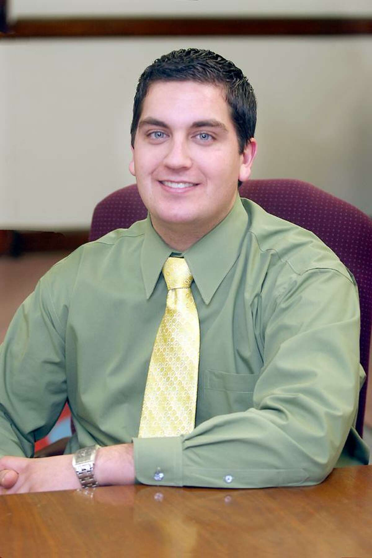File photo Mayor Ryan Bingham, who was elected as Torrington's mayor in 2005 at the age of 22, is mulling his political future, including whether he'll seek another term this fall.