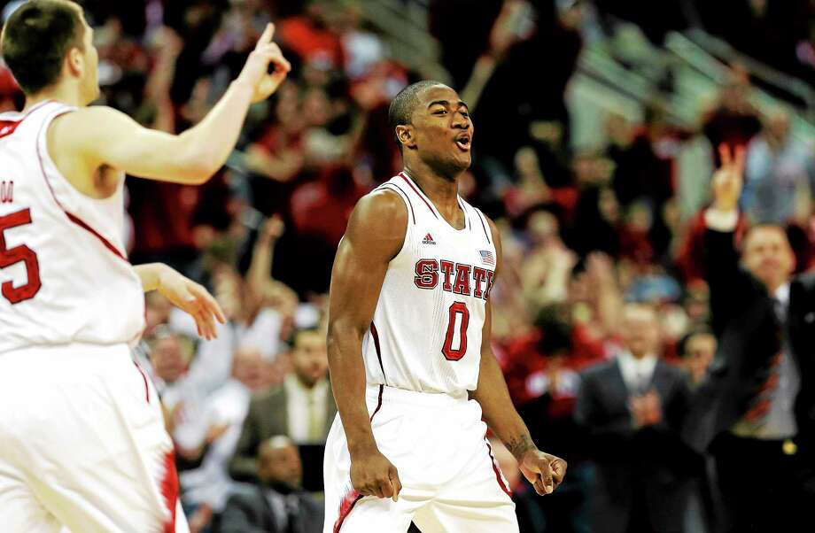 UConn has had a lot of swings and misses on the recruiting trail, UConn has two prime talents coming in next year, including North Carolina State transfer Rodney Purvis (0). Photo: Gerry Broome — The Associated Press  / AP2013
