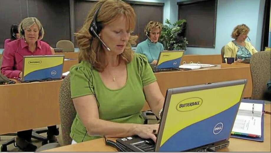 This undated photo provided by Butterball shows Butterball's Turkey Talk Line.  The line, which has grown from six operators to about 60 since it launched in 1981, has never hired men. But starting Monday, Sept. 16, 2013, Butterball will begin offering an online application for men age 25 and up to apply to be the spokesman for the line or one of the operators. (AP Photo/Butterball) Photo: AP / Butterball