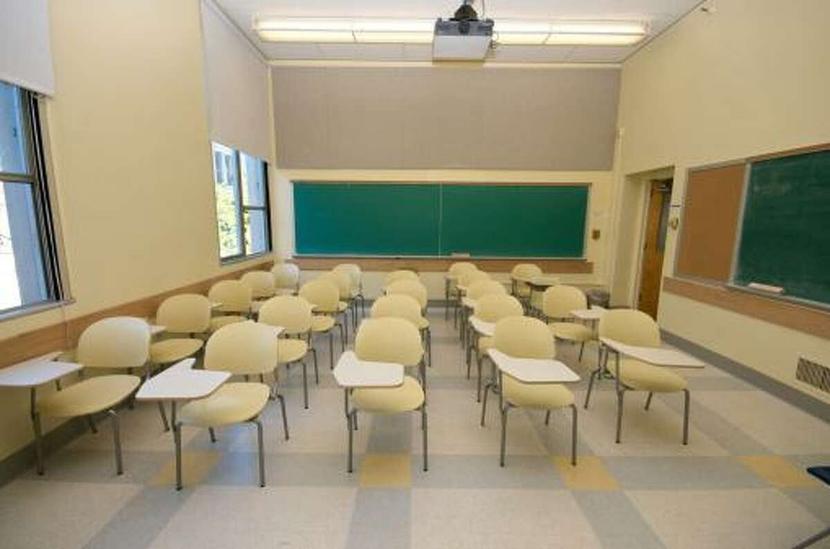 Empty Classrooms in college