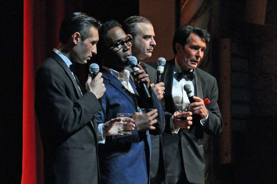 Photo courtesy of the Palace Theater, Waterbury The Rat Pack includes the talents of DavidDecosta, DezmondMeeks, SandyHackett and TonyBasile. The show is coming to Waterbury's Palace Theater on Feb. 8.
