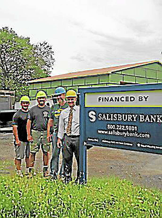 Submitted photo - Salisbury BankSalisbury Bank provided support for the Ancram Firehouse project in Ancram, New York. Photo: Journal Register Co.