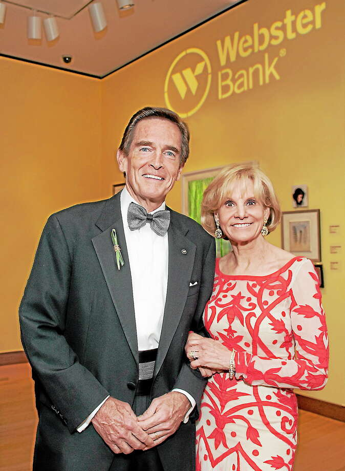 Submitted photo - Webster BankJim and Cathy Smith are this year's recipients of the Mattatuck Museum's Brass Button Award. Photo: Journal Register Co. / The Defining Photo