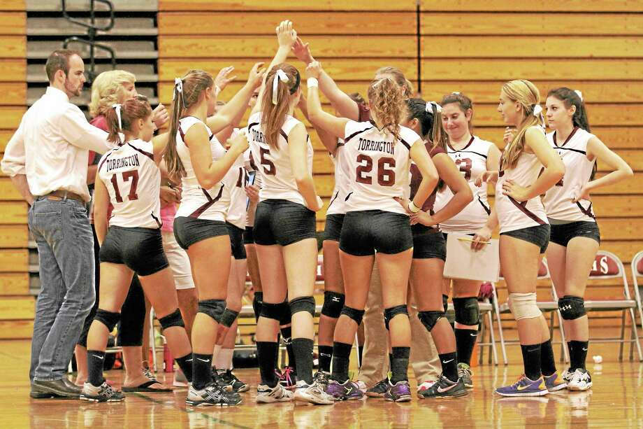 The Torrington Red Raiders improve to 3-0 after defeating Bristol Central in four games. Photo: Marianne Killackey—Special To The Register Citizen  / 2013