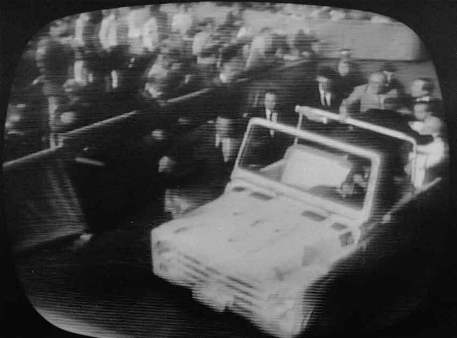 This video footage shows the assassination attempt on Pope John Paul II, May 13, 1981 as he rode in the Popemobile at the Vatican.  (AP Photo/NBC) Photo: ASSOCIATED PRESS / AP1981