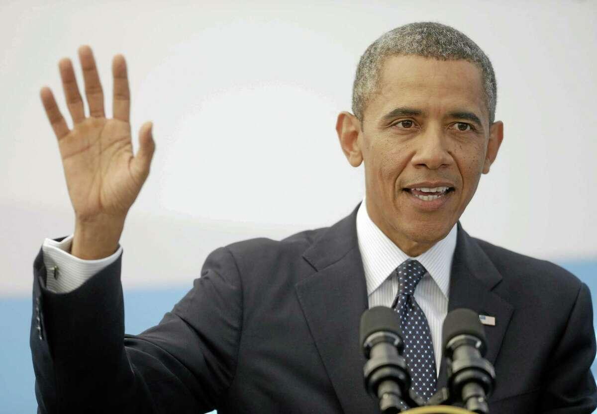 President Barack Obama. Associated Press file photo