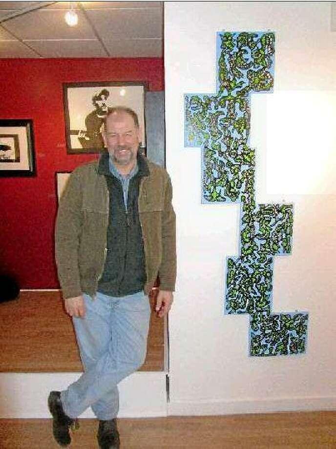 Ron Crowcroft with 'Crispy'