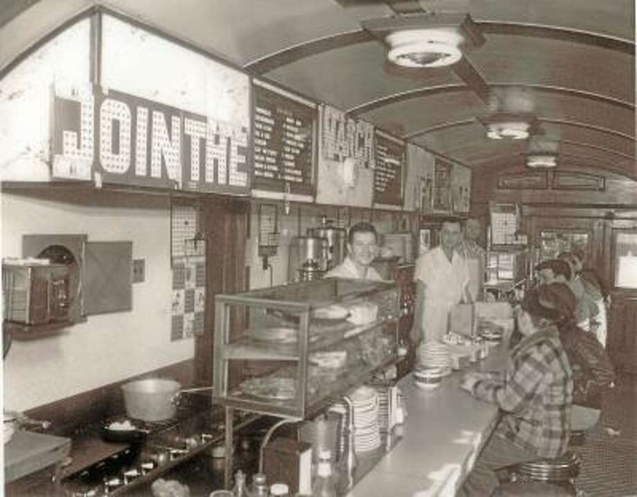 Photo from the Torrington Historical Society Collection  Skee's Diner in the 40's, in its heyday as a bustling eatery for Torringtonites.