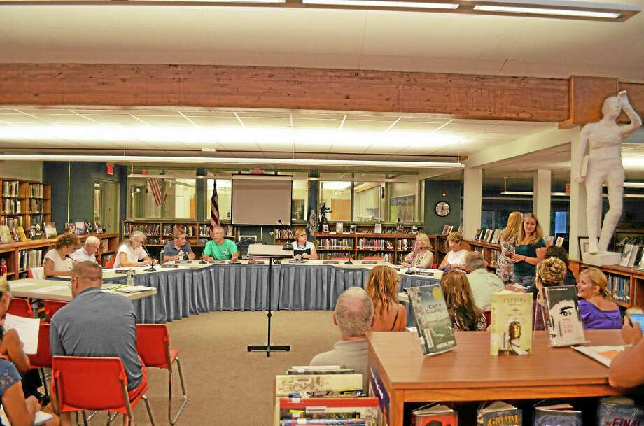 The Board of Education had previously discussed removing the policy at its Policy and Ethics Committee but brought the idea to its regular meeting Wednesday night. Photo: Ryan Flynn—Register Citizen