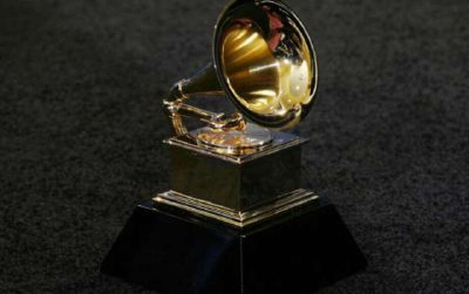 The trophy of the Grammy Award.