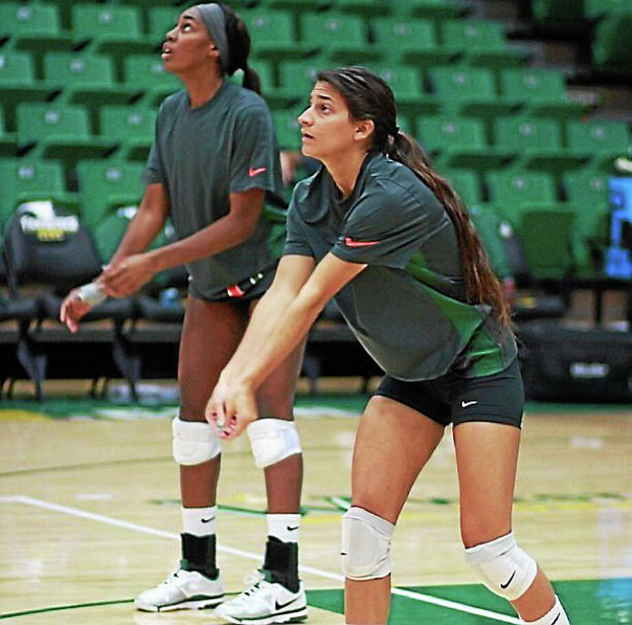 Former Torrington girls volleyball star Julia Giampaolo excelled at the University of Miami on the court and the classroom. Photo: Submitted Photo