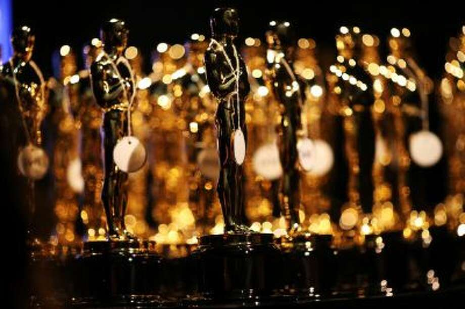 HOLLYWOOD, CA - FEBRUARY 24: General view of the Oscar statues backstage during the Oscars held at the Dolby Theatre on February 24, 2013 in Hollywood, California.  (Photo by Christopher Polk/Getty Images) Photo: Getty Images / 2013 Getty Images