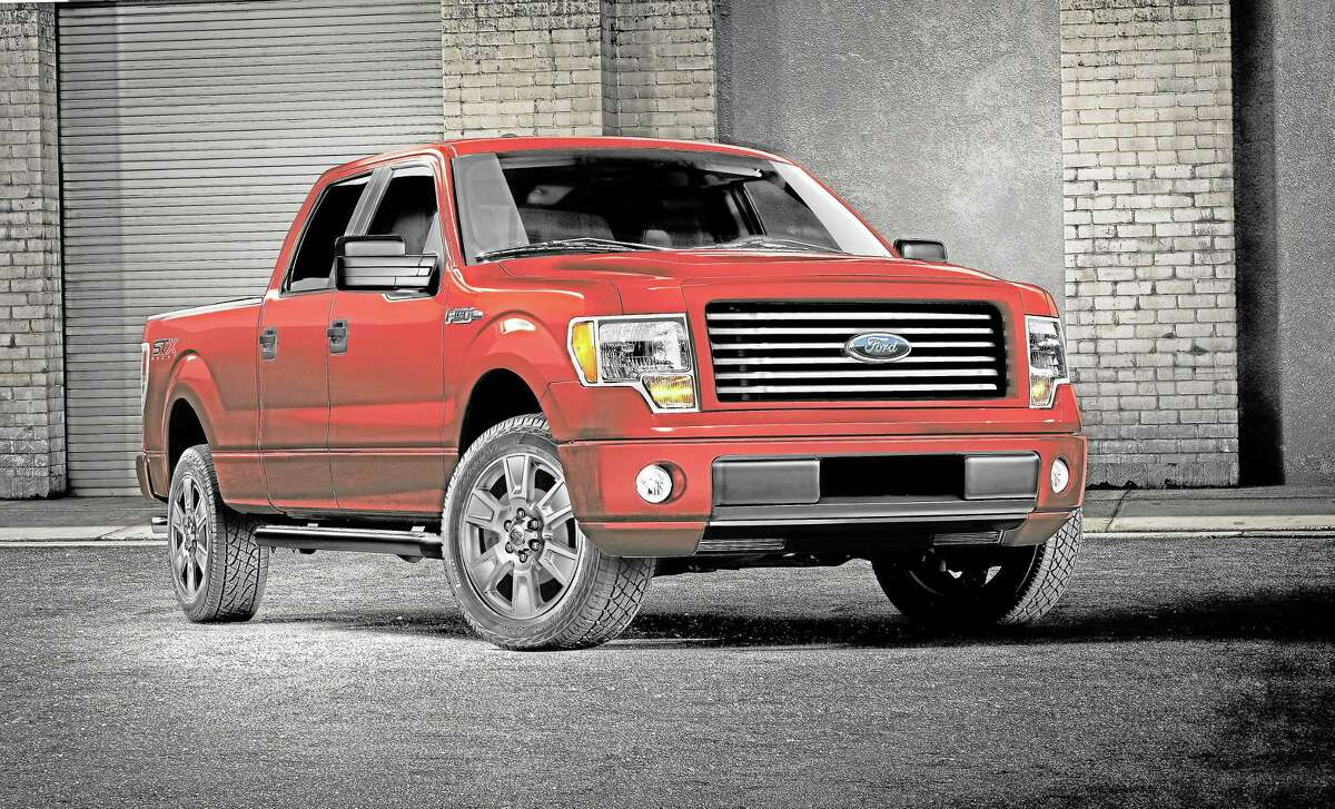 This undated photo provided by Ford shows the 2014 Ford F-150 STX SuperCrew truck.