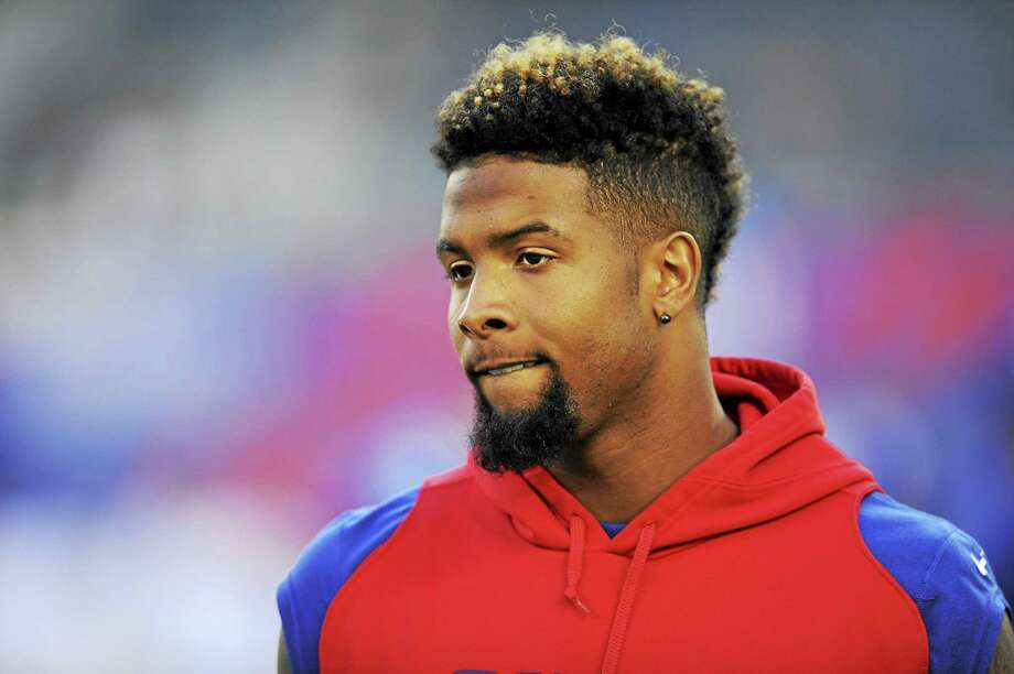 There is an outside chance first-round draft pick Odell Beckham Jr. may make his NFL debut Sunday when the Giants (2-2) play host to the Atlanta Falcons (2-2). Photo: The Associated Press File Photo  / FR51951 AP