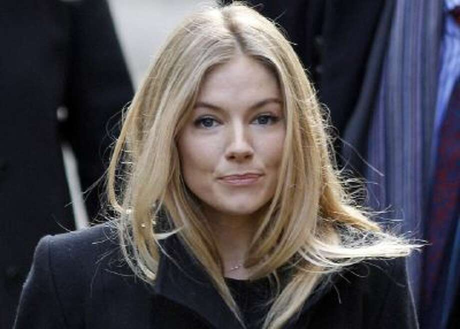 This Nov. 24, 2011 photo shows British actress Sienna Miller in London.