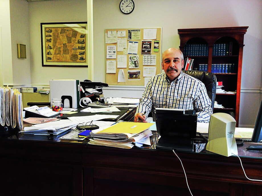 Goshen First Selectman Bob Valentine. Photo: Shako Liu — The Register Citizen