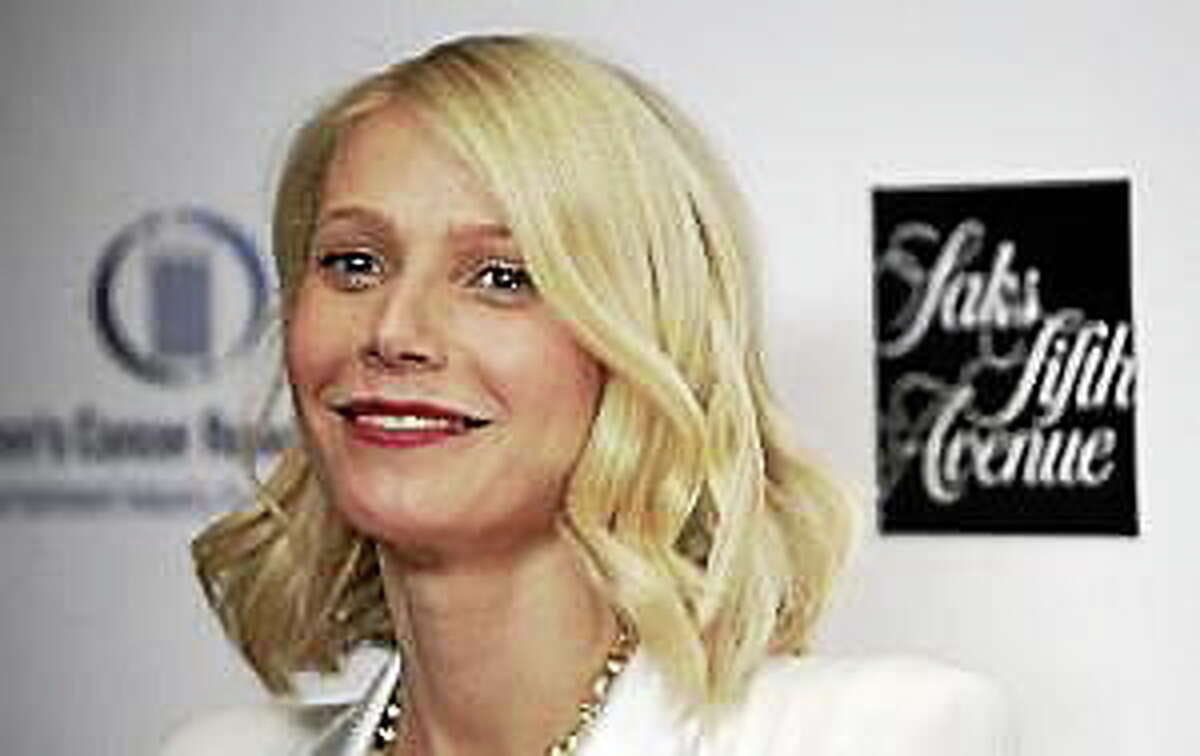 """Gwyneth Paltrow arrives at Saks Fifth Avenue's """"Unforgettable Evening"""" benefiting the Entertainment Industry Foundation Women's Cancer Research Fund in Beverly Hills, Calif. on Monday, Feb. 10, 2009."""