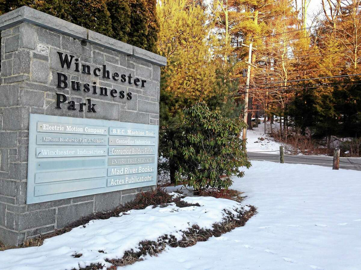 One of Winsted's two industrial parks locate on Route 20.