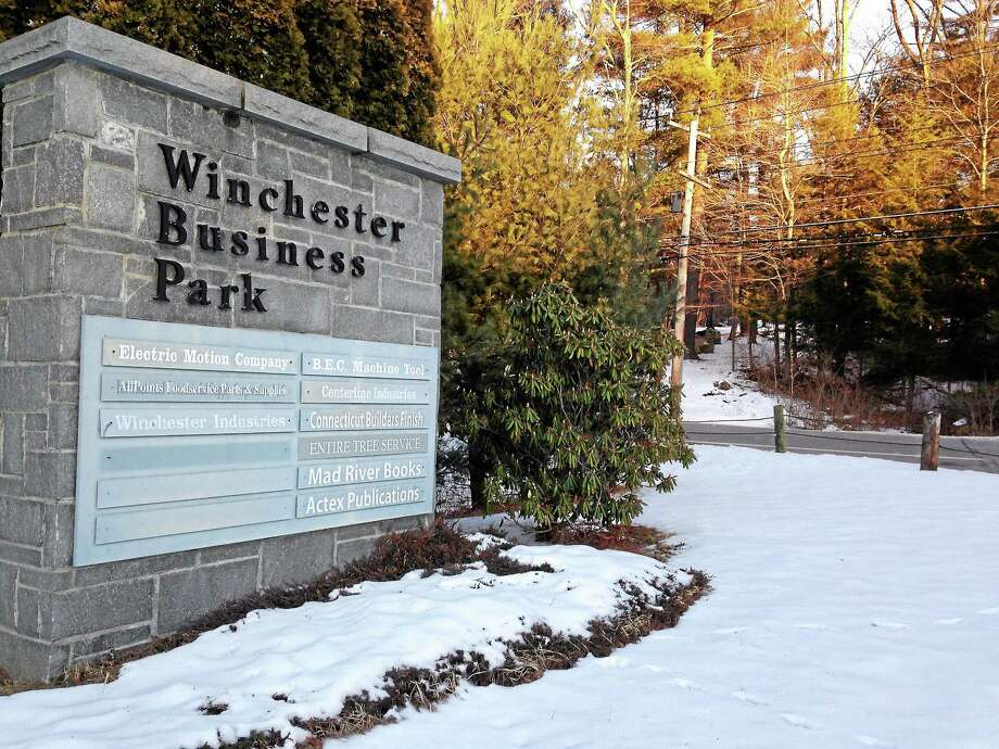 One of Winsted's two industrial parks locate on Route 20. Photo: Photos By Mercy A. Quaye — Register Citizen