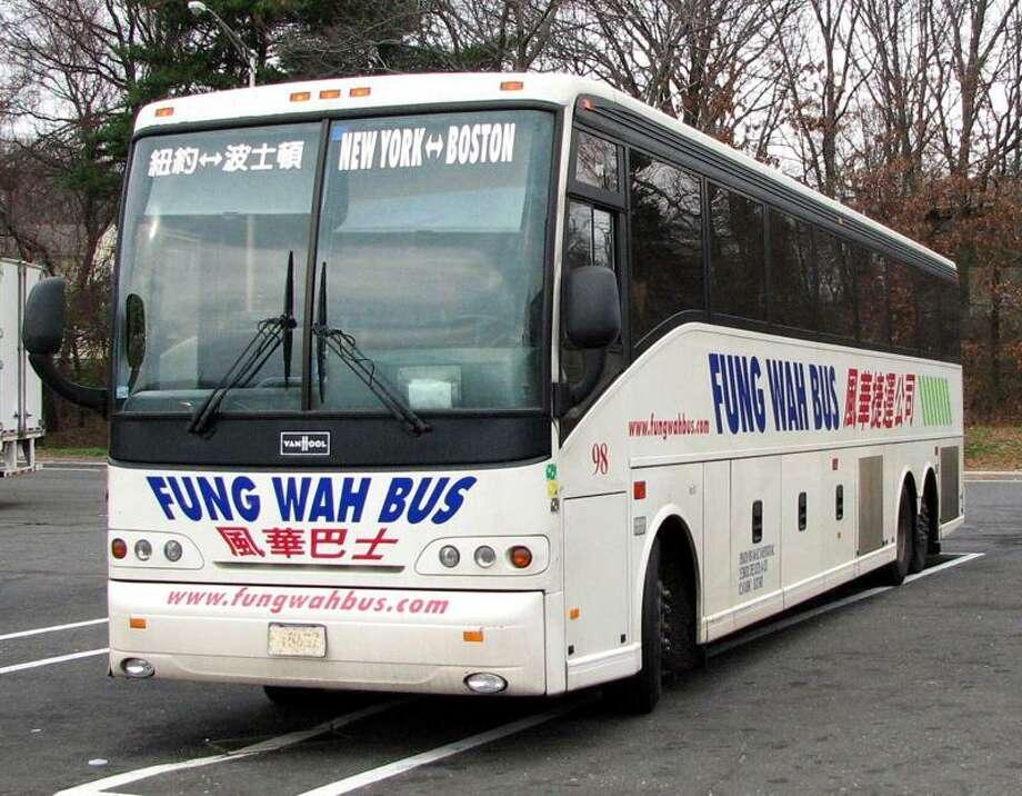 A Fung Wah bus. Photo courtesy of Ytoyoda/Wikipedia