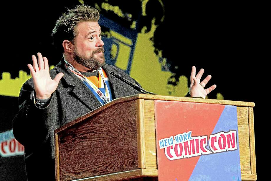 "Kevin Smith of the the AMC show ""Comic Book Men"" is seen during a panel at NYC-Comic-Con on Friday, Oct. 12, 2012 in New York. Photo: Charles Sykes — The Associated Press  / Invision"