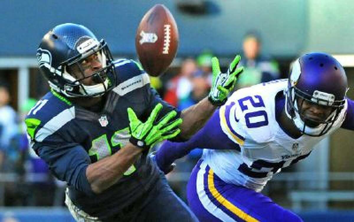 This 17-yard catch was Percy Harvin's only reception of the year.