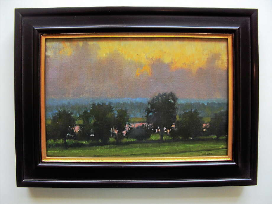 """Submitted photo courtesy of Curtis Hanson Curtis Hanson's paintings will be featured in this weekend's """"Spring Into Litchfield"""" fundraiser. Photo: Journal Register Co."""